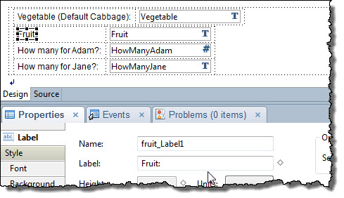XPages fields from a data source