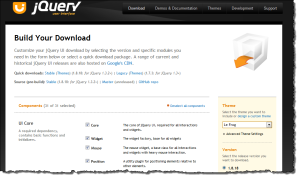 Building your jQueryUI download bundle