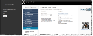 PageSlide showing data from another XPage to the side of the main
