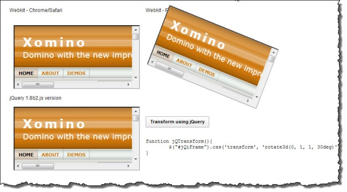 3d transform using -moz in firefox