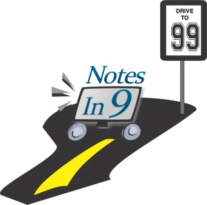 Notes In 9 - Drive to 99