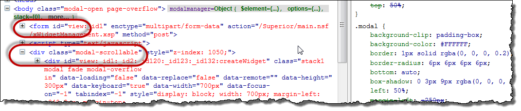 Why does hitting submit from within a bootstrap dialog not work