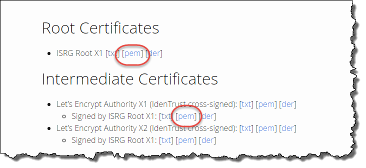 Adding your Let's Encrypt SSL certificate to your Domino