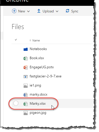 Reading an excel file from OneDrive using REST and the