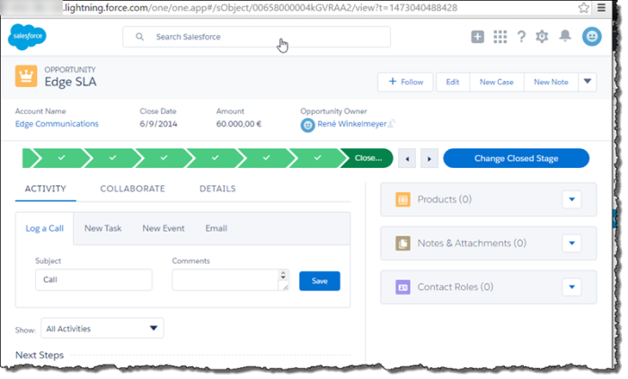Adding an attachment to an opportunity using Salesforce REST APIs