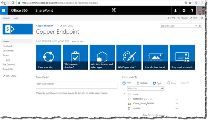 SharePoint now accessible via the Microsoft Graph beta | Xomino